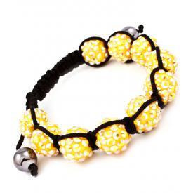 Shamballa armband Fireball Yellow