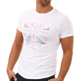 M.O.D heren shirt Print Wit