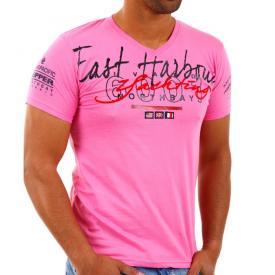 Rivaldi T shirt V hals Roze