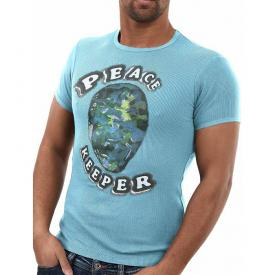 Absolute Joy shirt Peace Keeper Turquoise