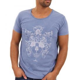 Jack Jones T shirt camo Skull