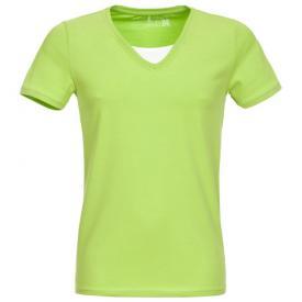 Heren shirt Sublevel V hals Groen