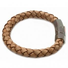 Heaven Eleven heren armband Leather Naturel