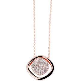 Fashion dames ketting Crystal Rose