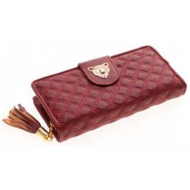 Dames portemonnee Rood met goud X G9.1