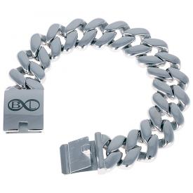B L Steel armband Edelstaal Amsterdam