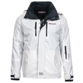 Geographical Norway Heren jas Bomba Wit
