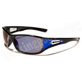 Xloop kinder zonnebril Reflected 2 tone Blue