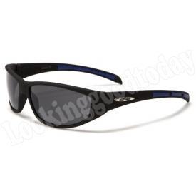 Xloop kinder zonnebril Stripe 2 tone Blue