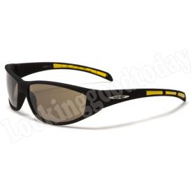 Xloop kinder zonnebril Stripe 2 tone Yellow