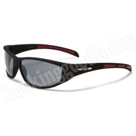 Xloop kinder zonnebril Stripe 2 tone Red