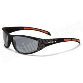 Xloop kinder zonnebril Stripe 2 tone Orange