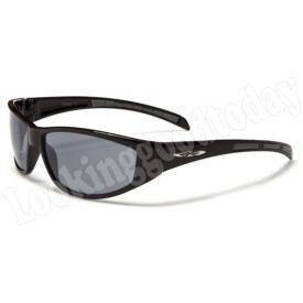 Xloop kinder zonnebril Stripe 2 tone Black